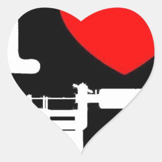 i heart tattoo products heart sticker