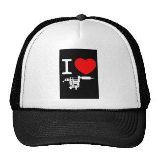 i heart tattoo products trucker hat