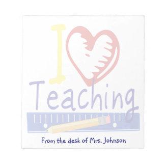 I (Heart) Teaching Notepad