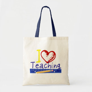 I (Heart) Teaching Tote Bag