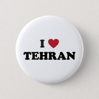 I Heart Tehran Iran 2 Inch Round Button