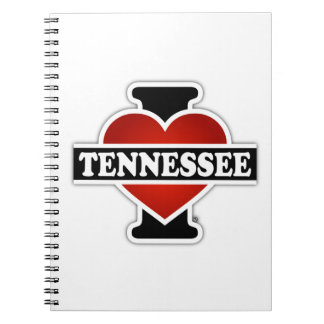 I Heart Tennessee Notebook