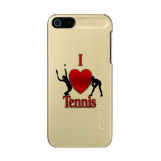 I Heart Tennis Incipio Feather® Shine iPhone 5 Case