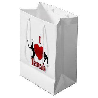 I Heart Tennis Medium Gift Bag