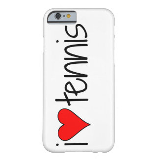 """""""i heart tennis"""" Phone Case Barely There iPhone 6 Case"""