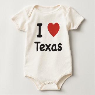 I Heart Texas Baby T-shirt