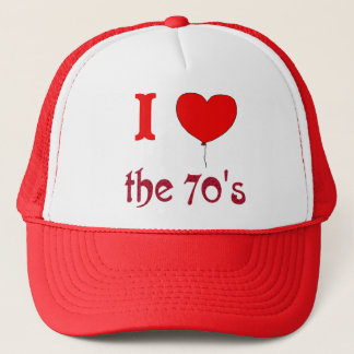 I Heart The 70's Vintage Style Hat