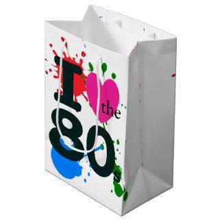 I Heart the 80s Medium Gift Bag