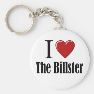 I Heart The Billster Keychain