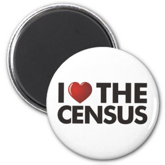 I Heart The Census Magnet