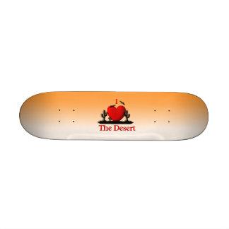 I Heart The Desert Custom Skate Board