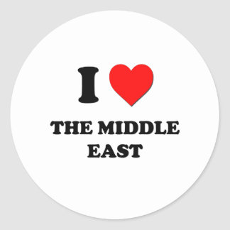 I Heart The Middle East Sticker