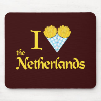 I Heart the Netherlands Mouse Pad