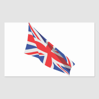 I Heart the UK/Union Jack Flag Sticker