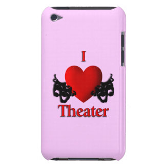 I Heart Theater Barely There iPod Cases