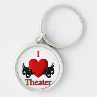 I Heart Theater Keychain
