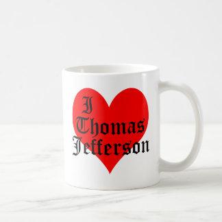 I Heart Thomas Jefferson Coffee Mug