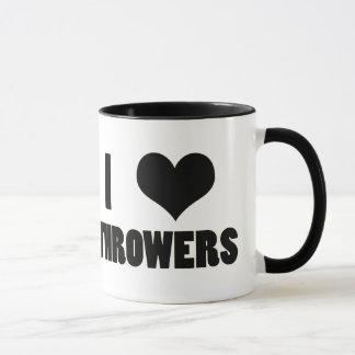 I Heart Throwers Coffee Mug Cup