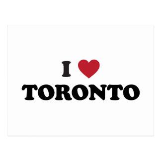I Heart Toronto Canada Postcard