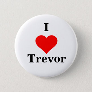 I Heart Trevor Button