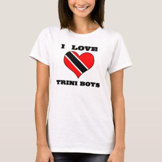 I Heart Trini Boys T-Shirt