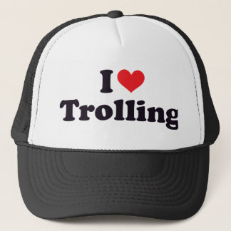 I Heart Trolling Trucker Hat