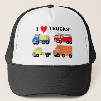 I HEART TRUCKS TRUCKER HAT