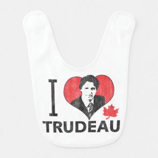 I Heart Trudeau Baby Bibs