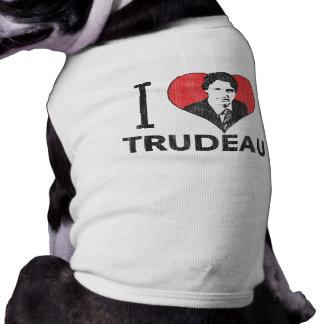 I Heart Trudeau Dog T Shirt