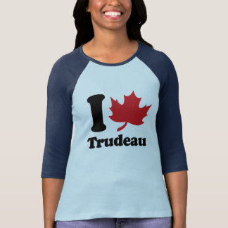 I Heart Trudeau - Maple Leaf -.png T-Shirt