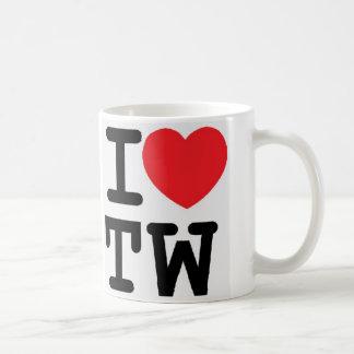 I heart TW design Coffee Mug