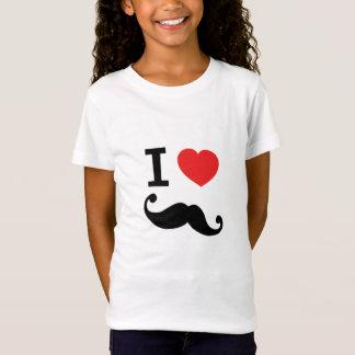 I heart twirly mustache T-Shirt
