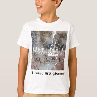 Ì Hëårt ÜFØ Çåtchêr (girls) T-Shirt