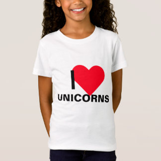 I Heart Unicorns T-Shirt