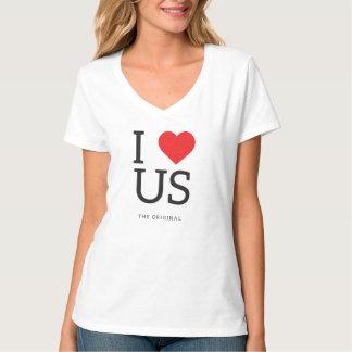 I Heart US (United States) Tees