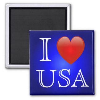 I Heart USA Magnet