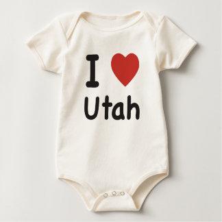 I Heart Utah - Baby T-shirt