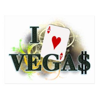 I Heart Vegas Postcard