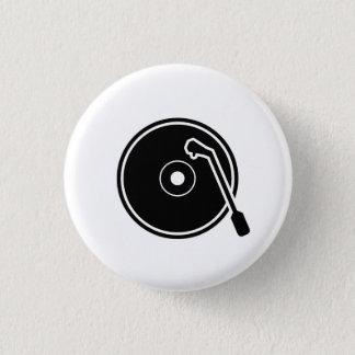 'I Heart Vinyl' Pictogram Button