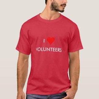 i heart volunteers T-Shirt