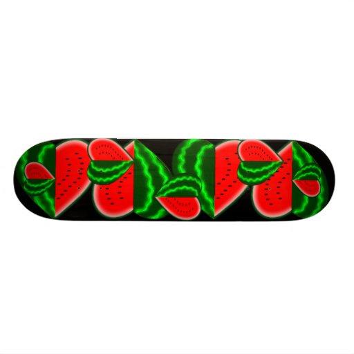 I (Heart) Watermelon Skate Board Decks