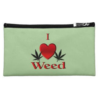 I Heart Weed Makeup Bag