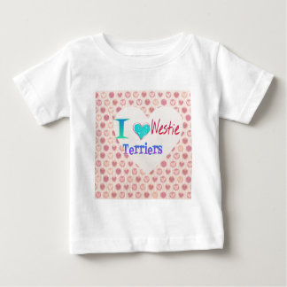 I heart Westies Valentines gift collection Baby T-Shirt