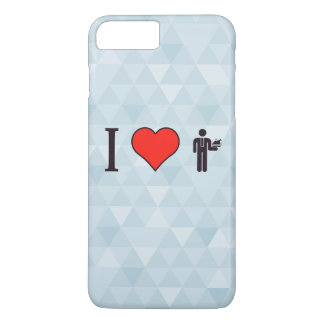 I Heart When My Food Finally Arrives iPhone 7 Plus Case