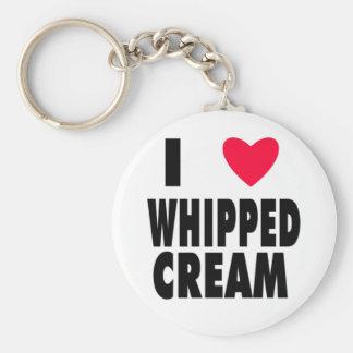 i heart WHIPPED CREAM Key Chain