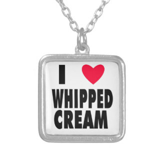 i heart WHIPPED CREAM Custom Jewelry