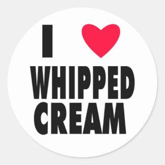 i heart WHIPPED CREAM Sticker