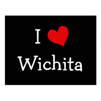 I Heart Wichita Postcard