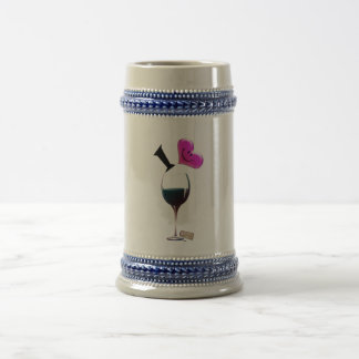 I Heart Wine Mug