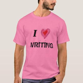 I Heart Writing T-Shirt